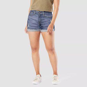 "DENIZEN Levi's Women's High-Rise 3"" Jean Shorts"